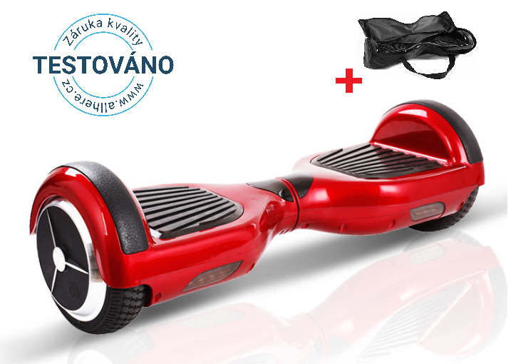 Hoverboard Standard red (bluetooth)