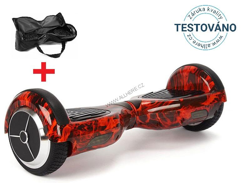 "Hoverboard Q3 7"" Fire red"