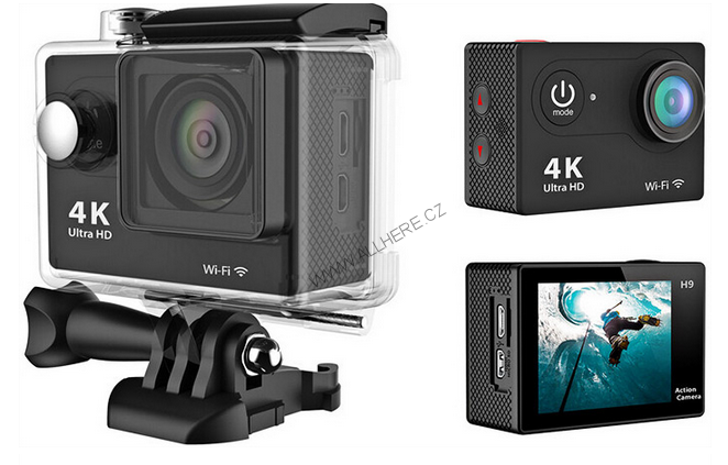 H9 Sport Camera 4K Ultra HD 12MP