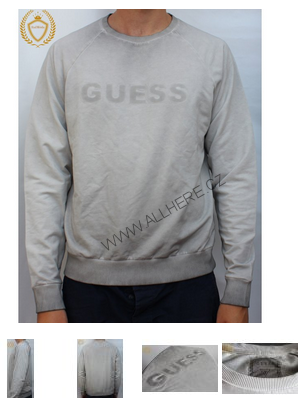 GUESS svetr LONG SLEEVE