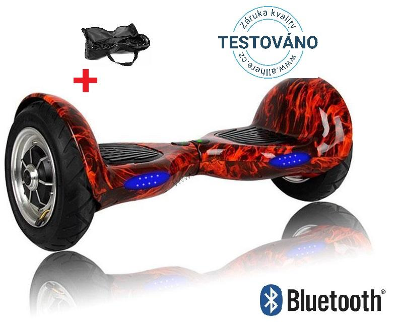 Hoverboard Offroad FIRE s bluetooth reproduktorem