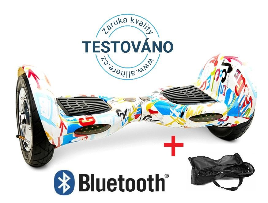 Hoverboard Offroad CRAZY s bluetooth reproduktorem
