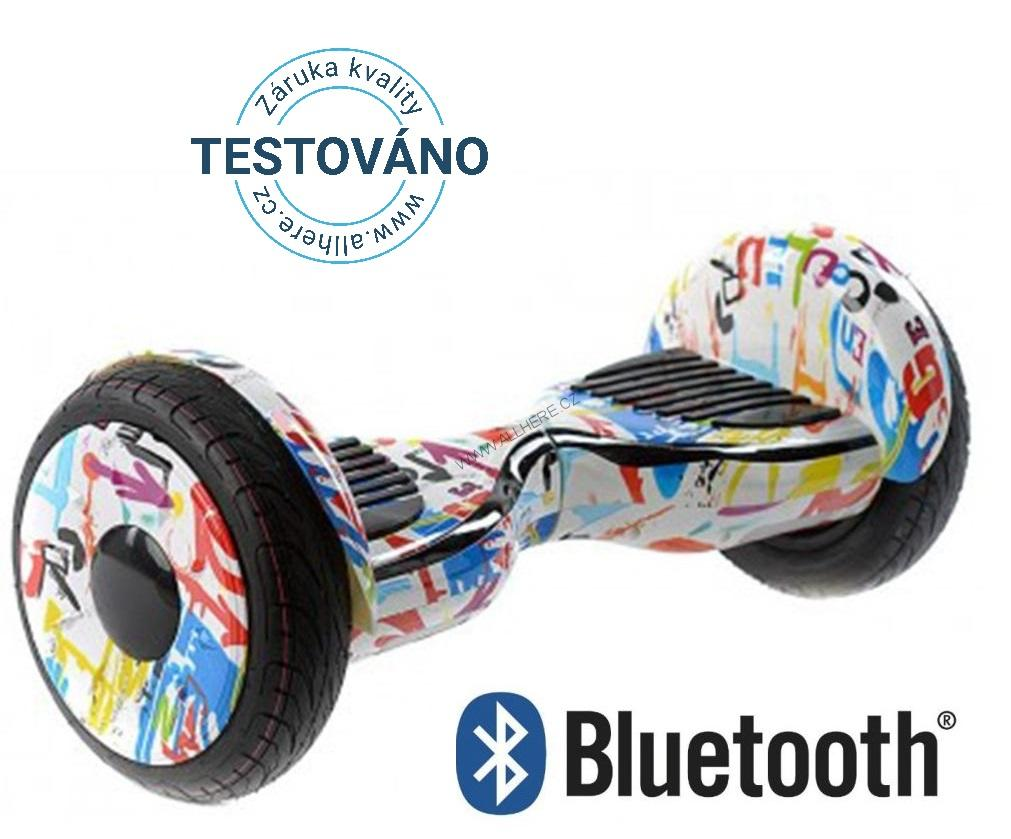 "Hoverboard Cross NEW 10"" Offroad - Crazy white"