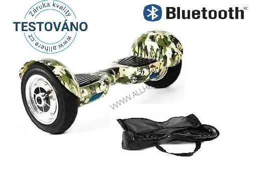 Hoverboard Offroad ARMY s bluetooth reproduktorem
