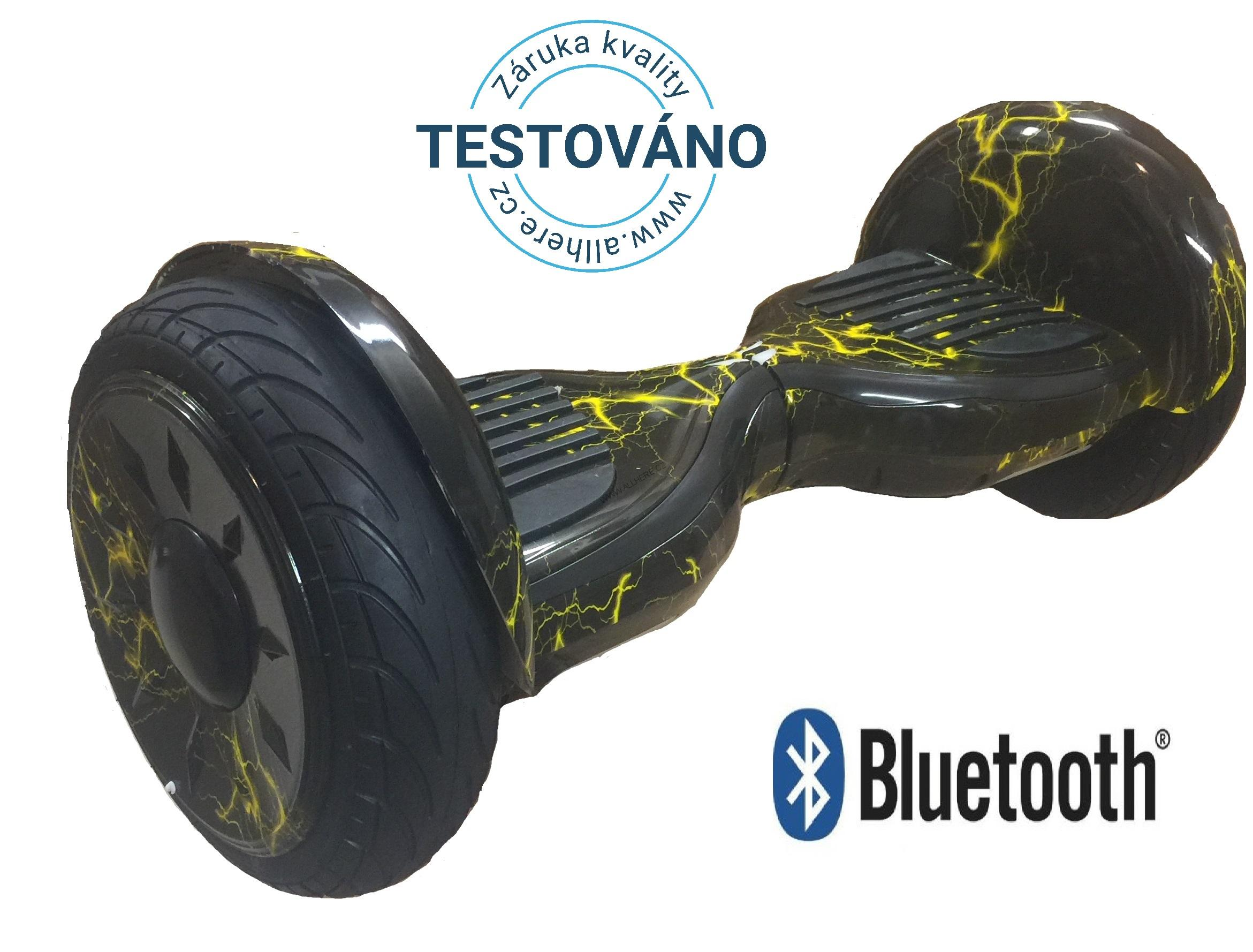 "Hoverboard Cross NEW 10"" Offroad - lightning"