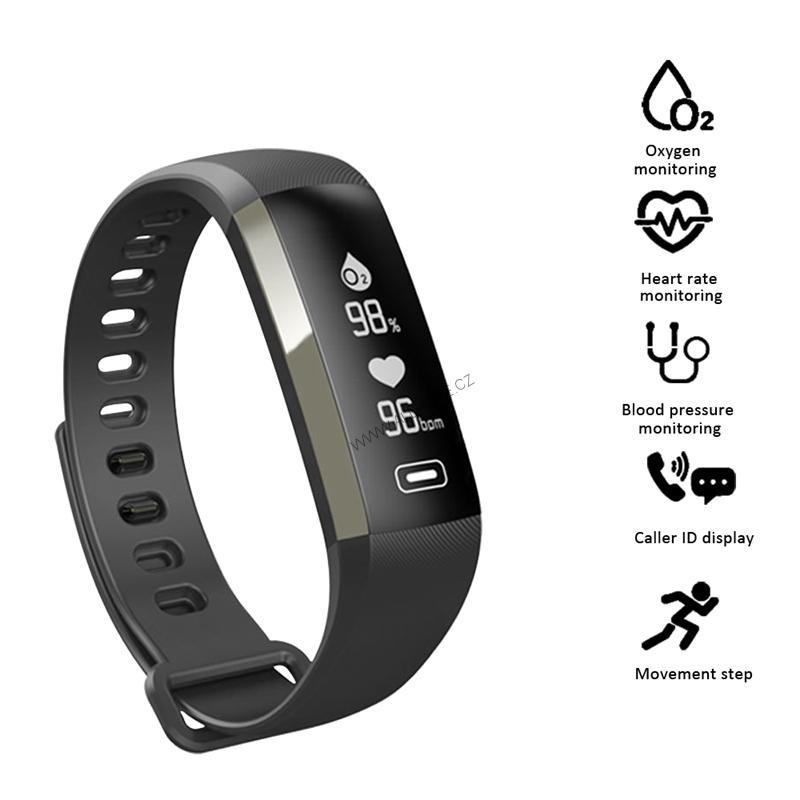 Smartwatch chytré hodinky M2 sport - black  5b6ff005e5