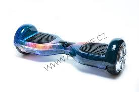 Hoverboard standard SPACE s bluetooth reproduktorem