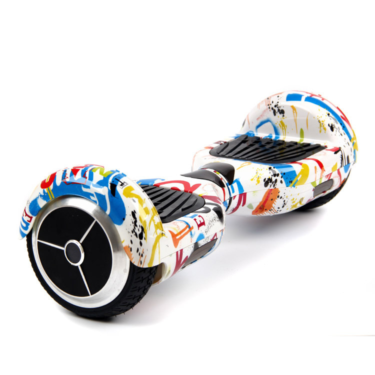 Hoverboard standard grafitty - white
