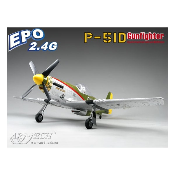 Art-Tech RC P-51D Gunfighter RTF