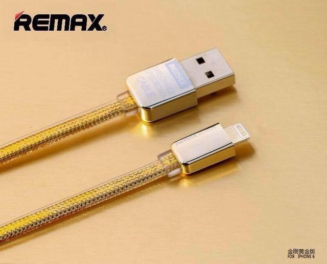 USB kabel pro Iphone 5/5s a 6 - GOLD