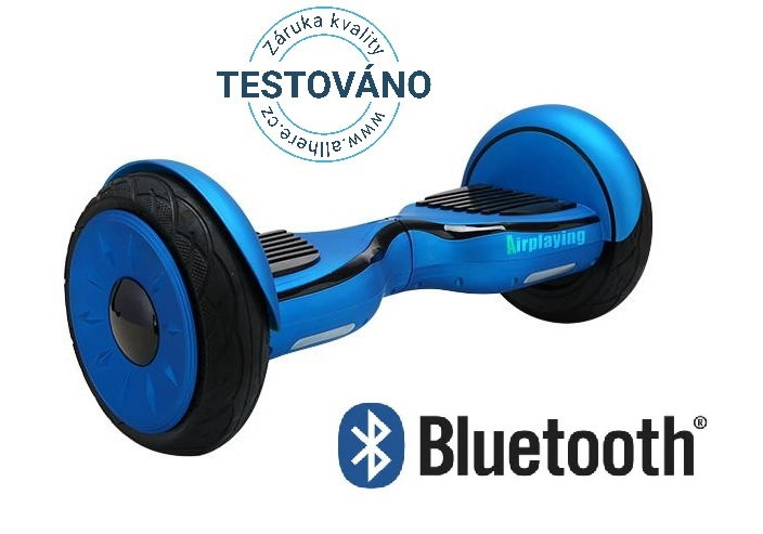 "Hoverboard Cross NEW 10"" Offroad - Modrá"