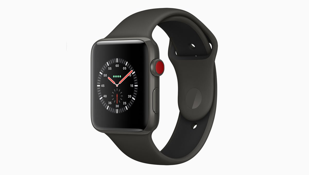Apple Watch Series 3 GPS, 42mm Space Grey