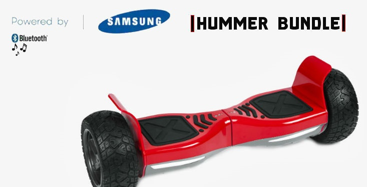 Hoverboard Hummer bluetooth, red