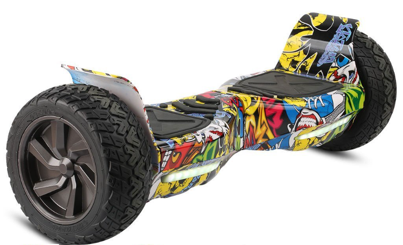 Hoverboard Hummer bluetooth, Grafitty yellow